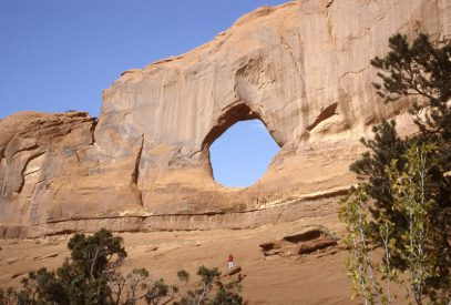 Full Moon Arch Arizona