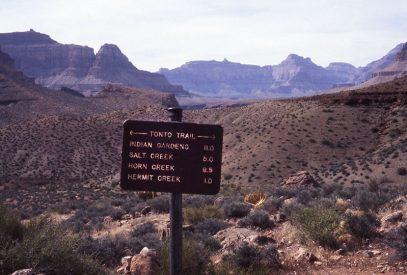 Grand Canyon Tonto Trail
