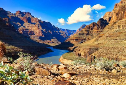 Grand Canyon river scene